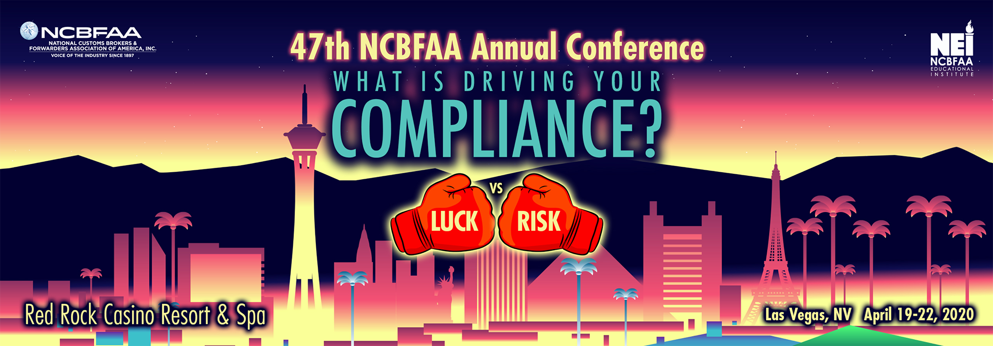 NCBFAA 47th Annual Conference - Las Vegas, NV @ Red Rock Casino, Resort & Spa